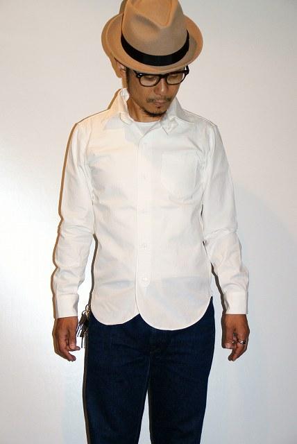 代引手数料・送料無料 DALEE'S (ダリーズ) 長袖ドレスシャツ CALICO (キャラコ) with COLLER No.2 ホワイト