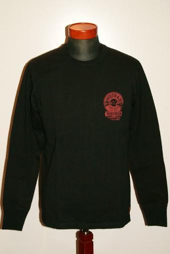 代引手数料・送料無料 DELUXEWARE (デラックスウエア) 長袖Tシャツ DLL-02