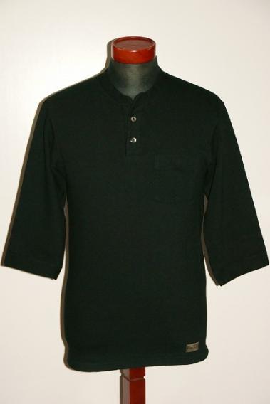 DALEE'S ダリーズ 6分袖ヘンリーネックTシャツ 人気ショップが最安値挑戦