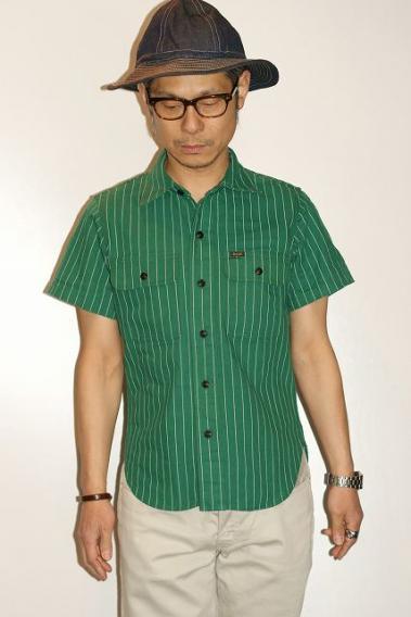DELUXEWARE (デラックスウエア) 半袖ワークシャツ WWS-26