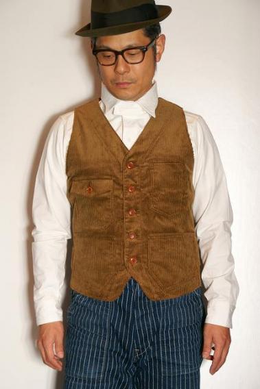 代引手数料・送料無料 1201 Dapper's (ダッパーズ) Waistcoat