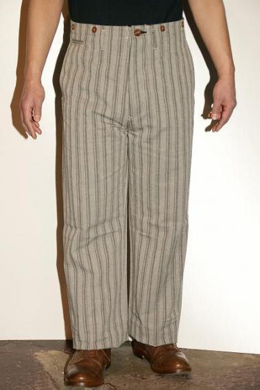 代引手数料・送料無料 Dapper's Trousers (ダッパーズ) ハイバックトラウザース Narrow 1230