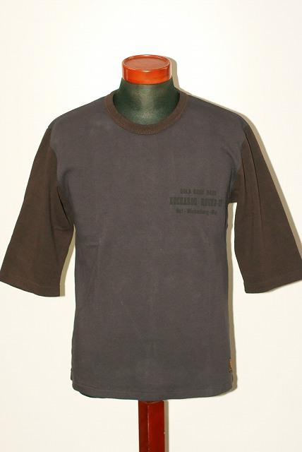 代引手数料・送料無料 DELUXEWARE (デラックスウエア) 7分袖Tシャツ URES-03