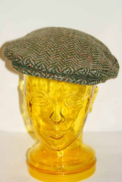 new arrival half off exclusive deals Delivery fee, Hanna Hats ( Hanna hats ) Tweed vintage Cap 77B2 green hunting