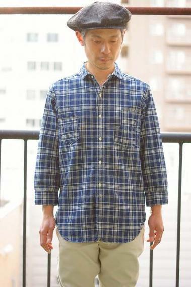 JELADO (ジェラード) 7分袖ワークシャツ AG41116