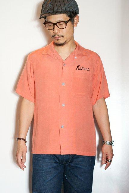 代引手数料・送料無料 STYLE EYES (スタイルアイズ) レーヨン・ボウリングシャツ SE37212