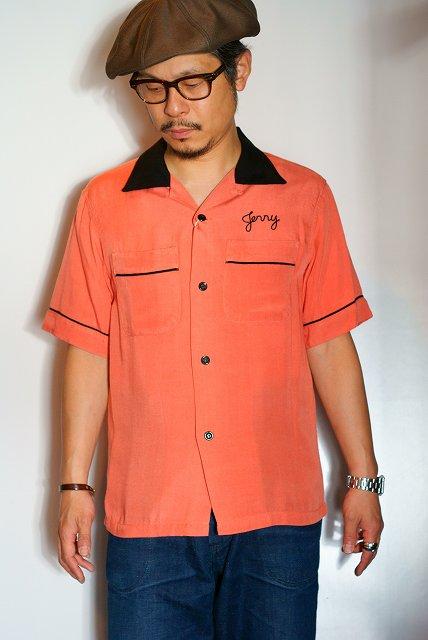 代引手数料・送料無料 STYLE EYES (スタイルアイズ) レーヨン・ボウリングシャツ SE37213
