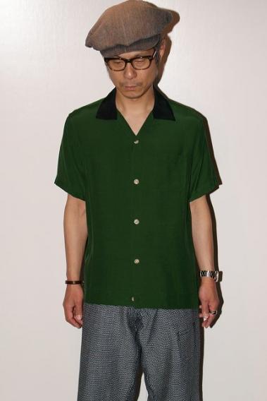 STYLE EYES (スタイルアイズ) レーヨン・ボウリングシャツ SE38075