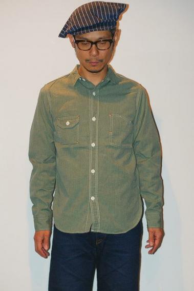 TCB (ティーシービー) ワークシャツ