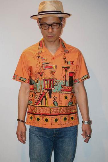 STAR OF HOLLYWOOD 与え スターオブハリウッド 半袖オープンシャツ ふるさと割 VOYAGE