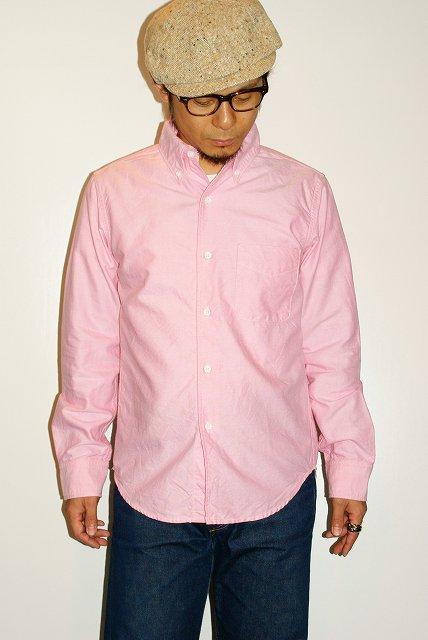 代引手数料 送料無料 UES 業界No.1 ウエス 501155 ピンク 品質保証 オックスフォードボタンダウンシャツ