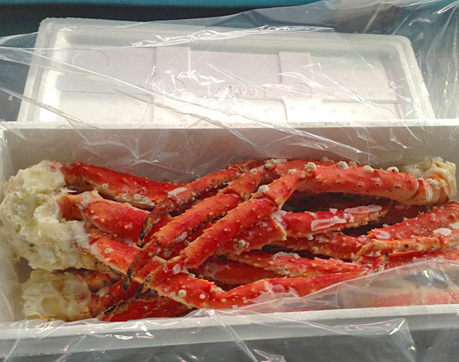 訳あり 本タラバ蟹足 2kg詰め 送料無料