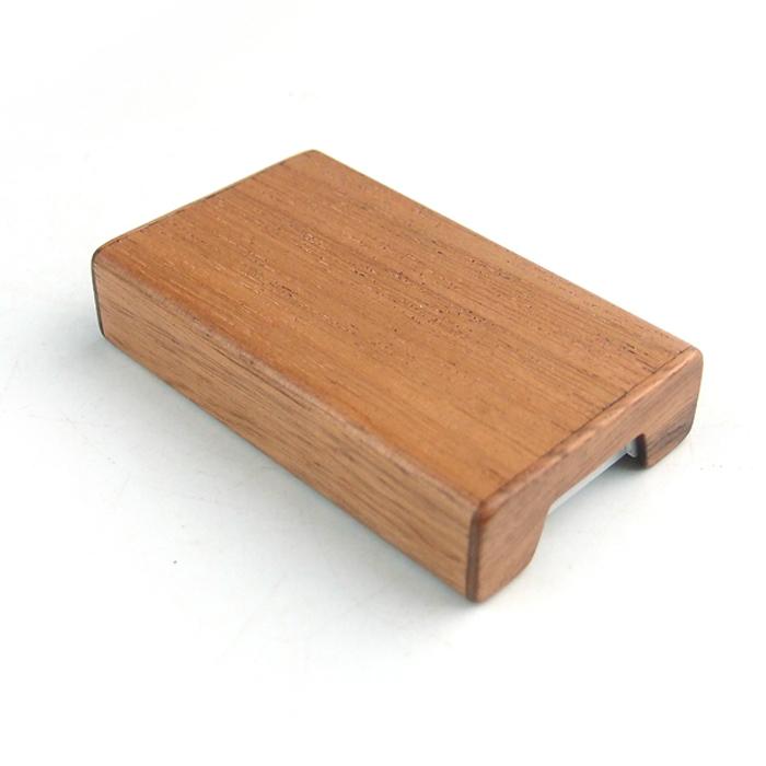 나무로 만든 타블렛 전용 케이스
