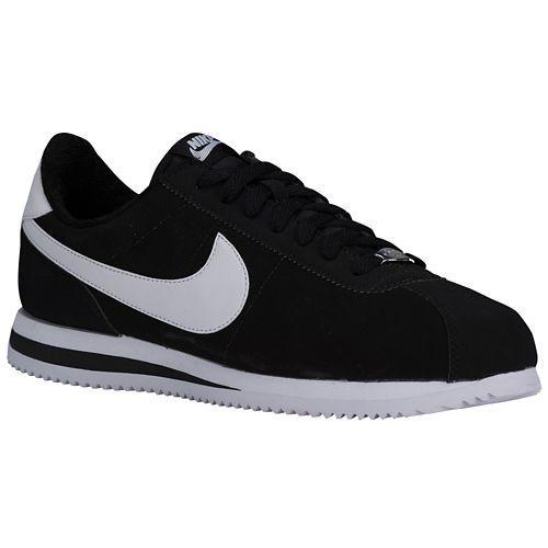 (取寄)NIKE ナイキ メンズ コルテッツ スニーカー Nike Men's Cortez Black Metallic Silver White 【コンビニ受取対応商品】
