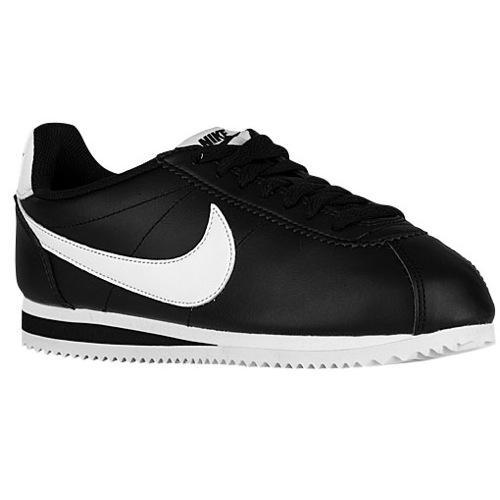 (取寄)NIKE ナイキ レディース スニーカー クラシック コルテッツ Nike Women's Classic Cortez Black White Black 【コンビニ受取対応商品】