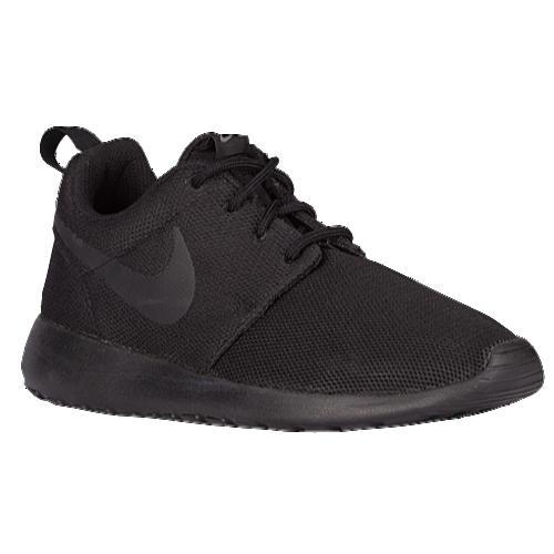 (取寄)NIKE ナイキ レディース スニーカー ローシ ワン Nike Women's Roshe One Black Black Dark Grey 【コンビニ受取対応商品】