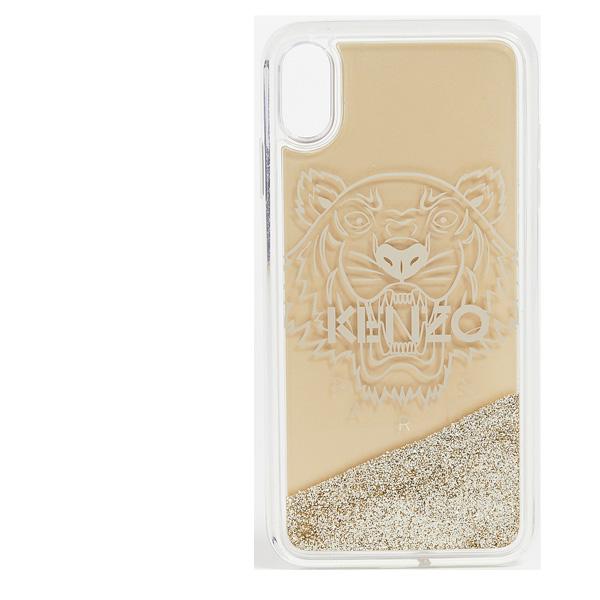 ケンゾー タイガー コクー iPhone XS MAX ケース KENZO Tiger Coque iPhone XS MAX Case gold あす楽対応