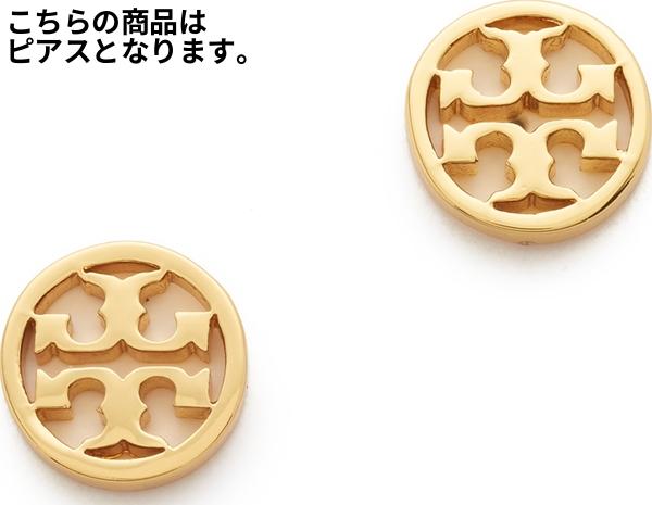 (取寄)トリーバーチ ロゴ サークル スタッズ ピアス Tory Burch Logo Circle Stud Earrings【コンビニ受取対応商品】