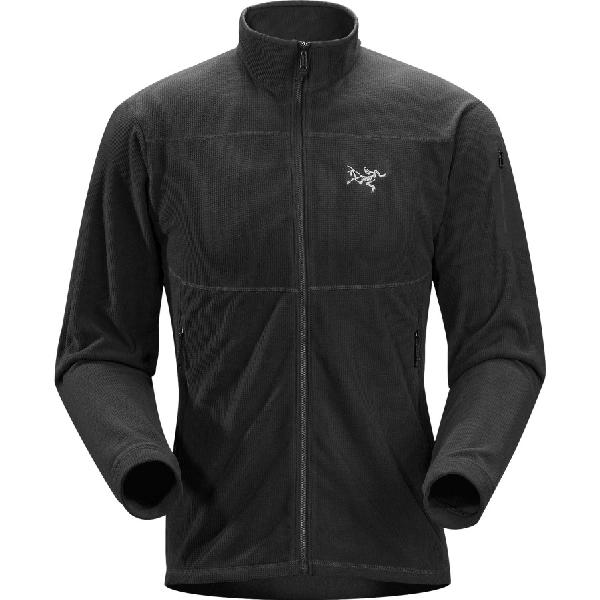 (取寄)アークテリクス メンズ デルタ LT フリース ジャケット Arc'teryx Men's Arc'teryx Delta LT Fleece Jacket Black フリース 【コンビニ受取対応商品】
