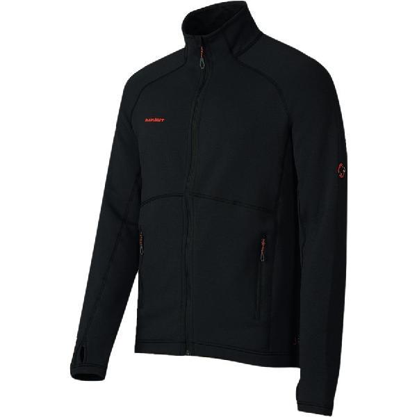 (取寄)マムート メンズ トロバット プロ ML ジャケット Mammut Men's Trovat Pro ML Jacket Black 【コンビニ受取対応商品】