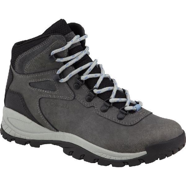 (取寄)コロンビア レディース ニュートン リッジ プラス ハイキング ブーツ Columbia Women Newton Ridge Plus Hiking Boot Quarry/Cool Wave【outdoor_d19】