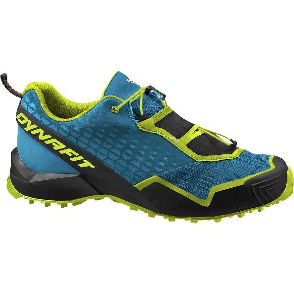(取寄)ディナフィット メンズ スピード MTN Gore-Texトレイル ランニングシューズ Dynafit Men's Speed MTN Gore-Tex Trail Running Shoe Mykonos Blue/Lime Punch