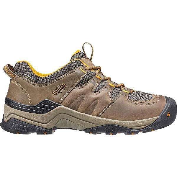 (取寄)キーン メンズ ギプス 2 ハイキングシューズ KEEN Men's Gypsum II Hiking Shoe Shitake/Golden Yellow