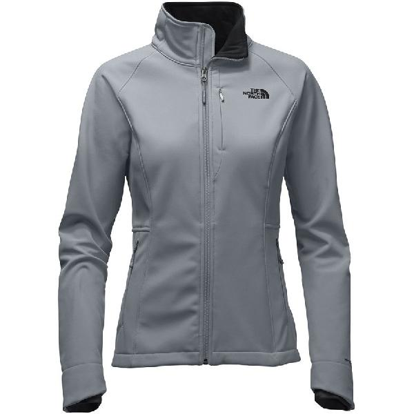 (取寄)ノースフェイス レディース アペックス バイオニック 2 ソフトシェル ジャケット The North Face Women Apex Bionic 2 Softshell Jacket Mid Grey