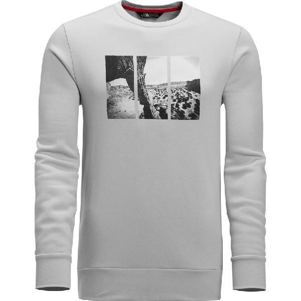 (取寄)ノースフェイス メンズ ジミー チン フリース クルー スウェットシャツ トレーナー The North Face Men's Jimmy Chin Fleece Crew Sweatshirt High Rise Grey