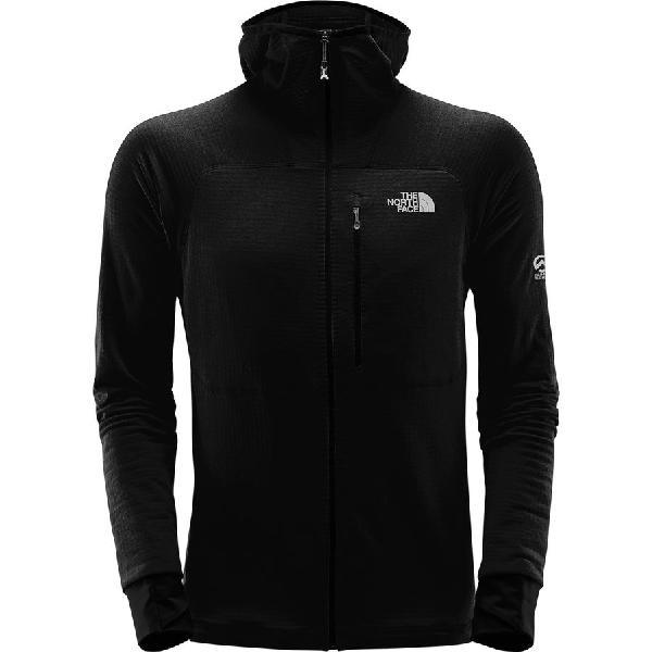 (取寄)ノースフェイス メンズ サミット L2プロプリウス グリッド フリース フーデッド ジャケット The North Face Men's Summit L2 Proprius Grid Fleece Hooded Jacket Tnf Black
