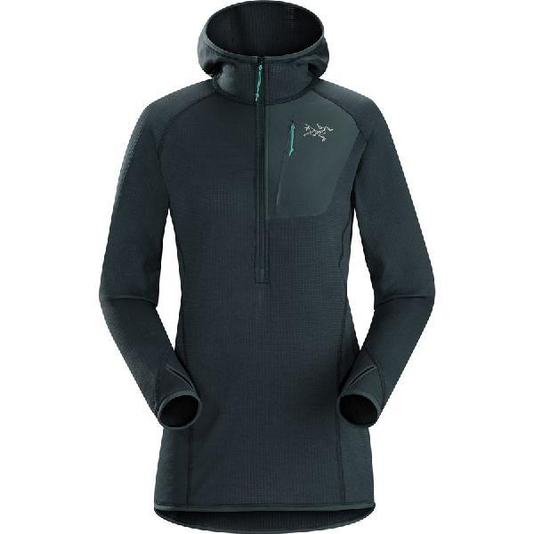 (取寄)アークテリクス レディース コンシール フーデッド フリース ジャケット Arc'teryx Women Konseal Hooded Fleece Jacket Black Sapphire