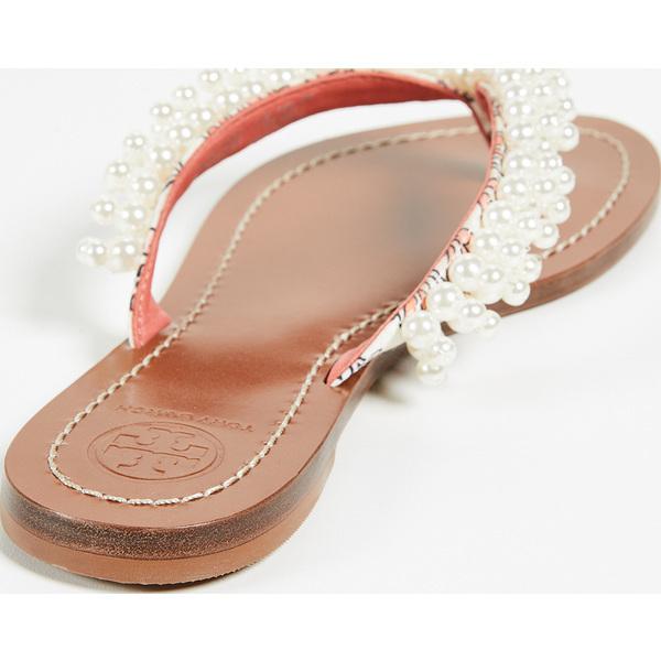 b2ff1428c500 (order) Tory Burch Tatiana Thong Sandals Tolly Birch Tatyana tong sandals  HicksGardenFreshMelon