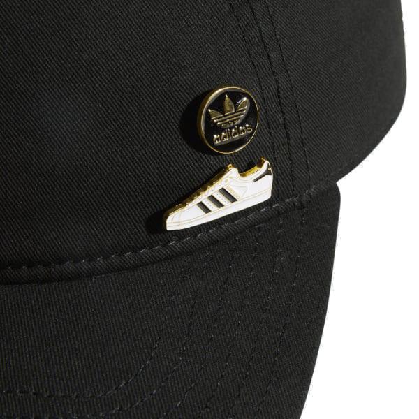 Adidas originals men cap relaxation strap back pin cap hat black black  adidas ORIGINALS Relaxed Strapback Pin Cap 5144808 10d238f9b6c