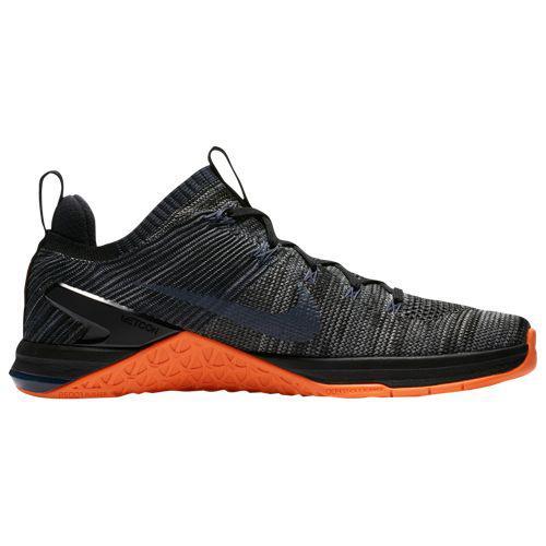(取寄)ナイキ メンズ トレーニングシューズ メトコン DSX フライニット 2 Nike Men's Metcon DSX Flyknit 2 Black Thunder Blue Hyper Crimson