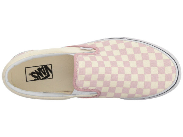 (order) Vans (vans) sneakers classical music slip unisex men gap Dis Vans  Unisex Classic Slip (Checkerboard) Zephyr Pink True White 9ee52e172
