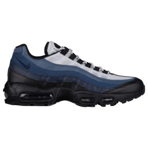 (取寄)ナイキ メンズ エア マックス 95 スニーカー Nike Men's Air Max 95 Black Obsidian Navy Blue Pure Platinum