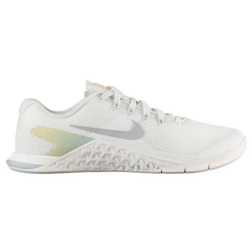 (取寄)ナイキ レディース メトコン 4 トレーニングシューズ Nike Women's Metcon 4 Summit White Wolf Grey Pure Platinum, ブランドバッグ通販のプリマローズ 97ffbf83