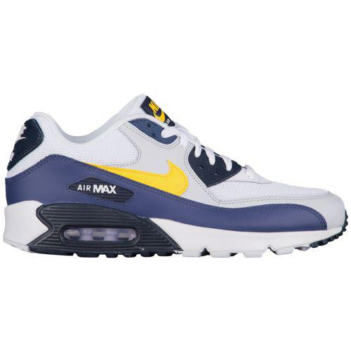 (取寄)ナイキ メンズ スニーカー エアマックス 90 Nike Men's Air Max 90 White Tour Yellow Blue Platinum Obsidian