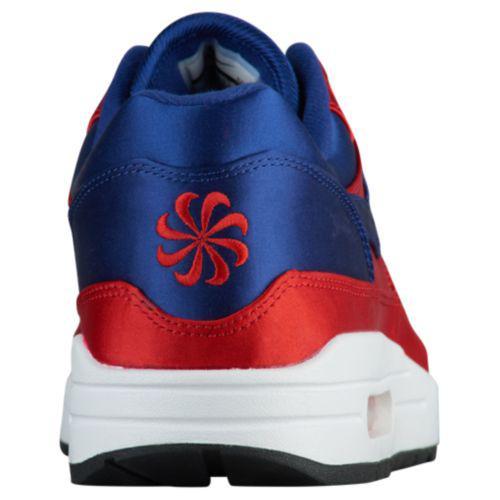 (order) Nike men Air Max 1 sneakers Nike Men s Air Max 1 University Red  Deep Royal Blue White Black 347abc64e