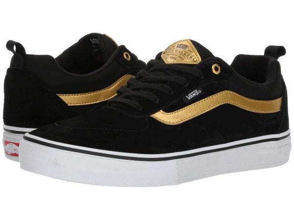 (取寄)Vans(バンズ) スニーカー カイル ウォーカー プロ メンズ Vans Men's Kyle Walker Pro Black/Metallic Gold