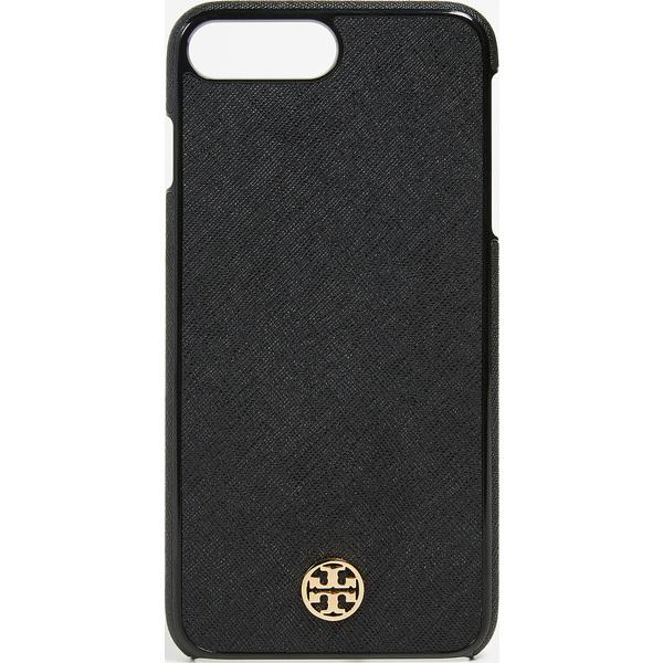 (取寄)Tory Burch Robinson Hardshell iPhone 8 Plus Case トリーバーチ ロビンソン ハードシェル iPhone 8 プラス ケース ブラック