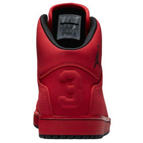 24602d2c19df Jordan men sneakers Jordan 1 flight 5 shoes red red Jordan Men s 1 Flight 5  Gym Red Black