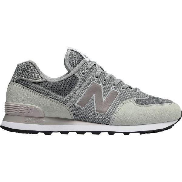 (取寄)ニューバランス メンズ 574エンジニアド メッシュ シューズ New Balance Men's 574 Engineered Mesh Shoe Silver Mink/Gunmetal