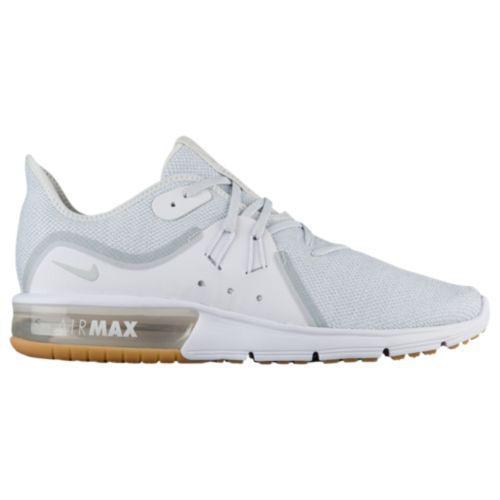(取寄)ナイキ メンズ エア マックス シークエント 3 ランニングシューズ スニーカーNike Men's Air Max Sequent 3 White Pure Platinum