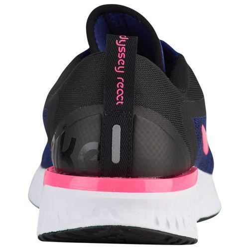 6e7b70740364e (order) Nike Lady s sneakers running shoes Odyssey re-act Nike Women s  Odyssey React Deep Royal Blue Pink Blast Black White