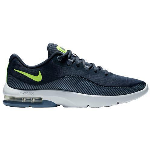 (取寄)ナイキ メンズ スニーカー バッシュ エアマックス アドバンテージ 2 バスケットシューズ Nike Men's Air Max Advantage 2 Thunder Blue Volt Glow Ashen Slate