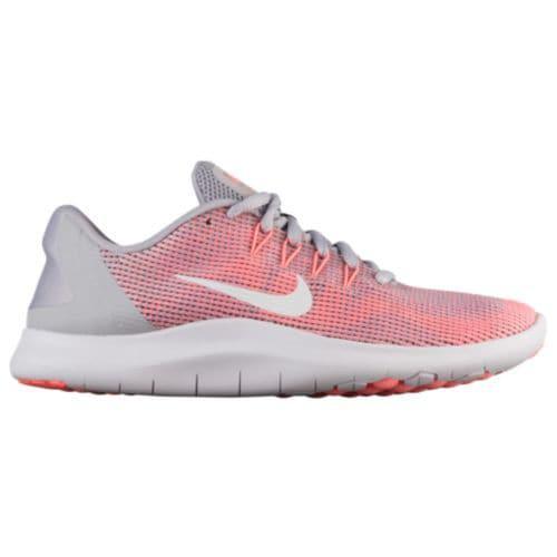 (取寄)ナイキ レディース フレックス ラン 2018 スニーカー ランニングシューズ Nike Women's Flex Run 2018 Atmosphere Grey Vast Grey Crimson Pulse