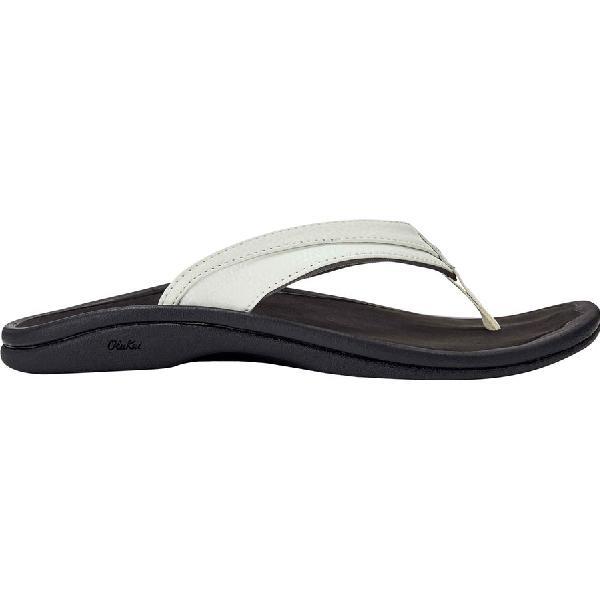 (取寄)オルカイ レディース オハナ サンダル Olukai Women Ohana Sandal White/Black