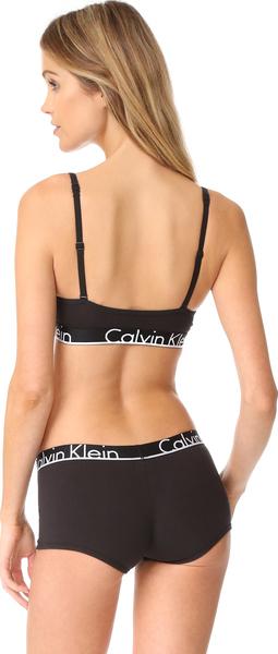 6a1ba110d6e0 Calvin Klein Underwear Women s Calvin Klein ID Triangle Bra Calvin Klein  Lady s Calvin Klein ID triangle bra brassiere Black