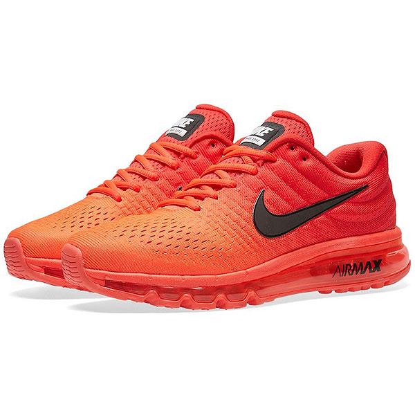 Nike Nike men sneakers Air Max 2017 running shoes sneakers Nike Men s Air  Max 2017 Bright Crimson Black University Red 588e2ef934968